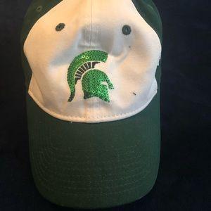 Accessories - Michigan State bling baseball hat 341f97cf4
